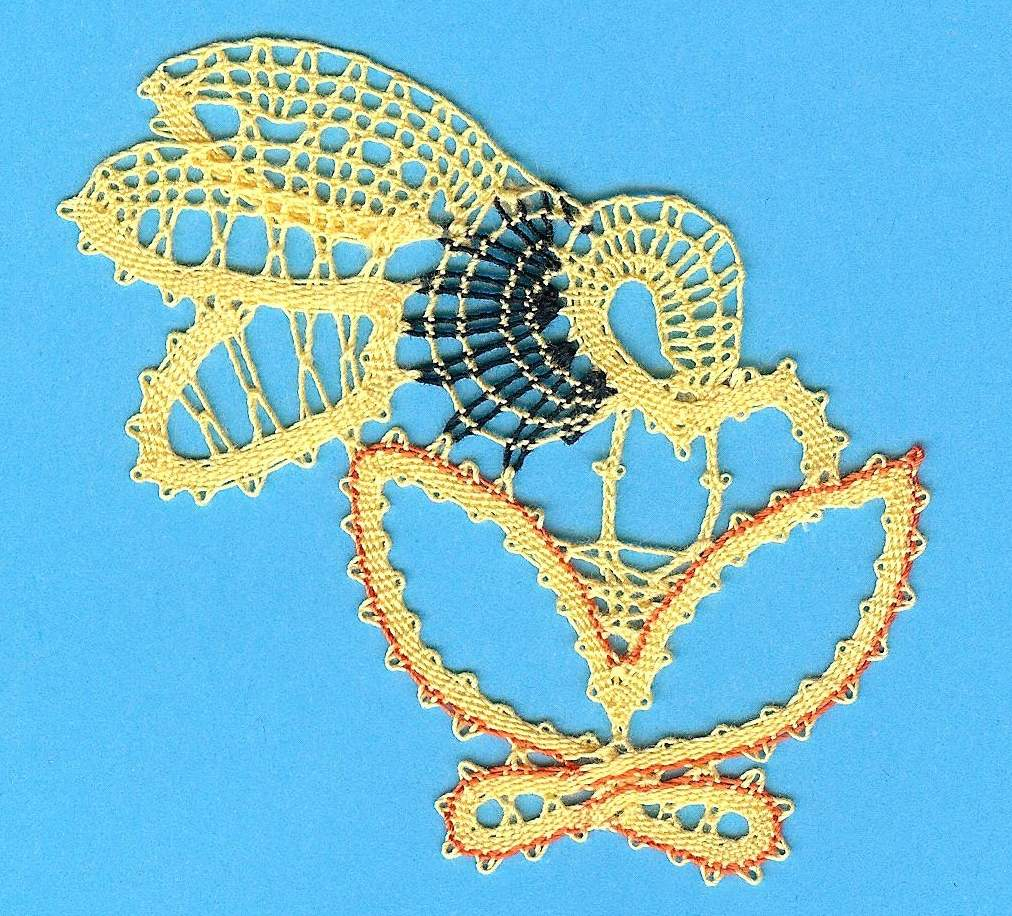 HONEY BEE Pattern design-I_Pervanja-Lacemaker-A_Marguccio